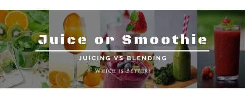 Blending vs Juicing Blog Featured Picture