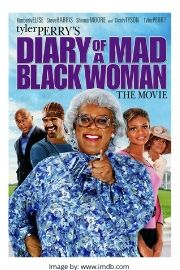 Tyler Perry's Diary of a Mad Black Woman movie cover.