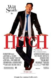Will Smith on the Hitch movie cover.