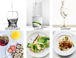 Drink More Water with A Glass of Water Before Every Meal for The LOVELEELERA Blog