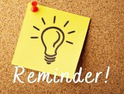 Reminder for The LOVELEELERA Blog