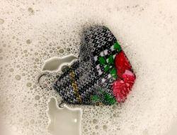 Soak Mask in Soap for The LOVELEELERA Blog