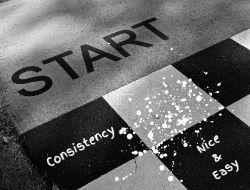 Start, Slow & Consistent for The LOVELEELERA Blog