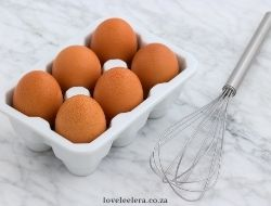 Eggs & Whisk For Scrambled Eggs on The LOVELEELERA Blog